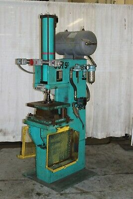 15 Ton Pressotechnik Hydraulic C Frame Press Yoder 59608
