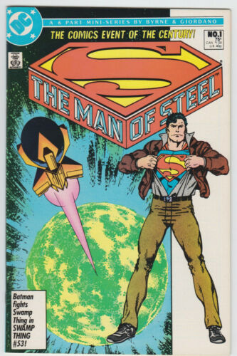 "Superman ""The Man Of Steel"""" DC #1 (1986) Near Mint"