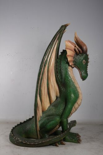 Green Sitting Dragon 7