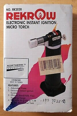 Rekrow Electronic Instant Ignition Micro Torch Rk2020