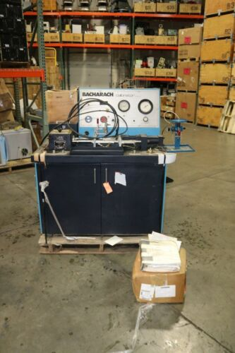 Bacharach CD-3 Diesel injector calibrator Calibration Test Bench 164 HOURS
