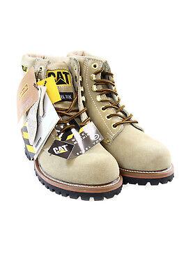 Caterpillar Men Vintage Suede Boots with Steel Toe Logger 6 Caterpillar Logger Boots