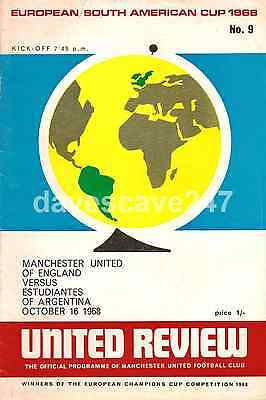 Manchester United v Estudiantes - 1968 - World Club Championship