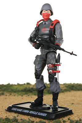 GI Joe Cobra Vehicle GUNNER Infantry v1 25th Ultimate Battle Pack Figure Hasbro ()
