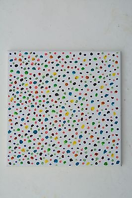 Original Contemporary Oil Painting, Dots