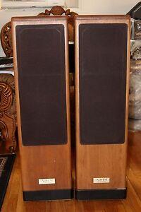 vintage advent heritage floor standing speaker ebay. Black Bedroom Furniture Sets. Home Design Ideas