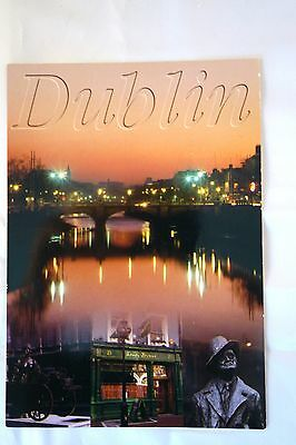 Dublin Ireland used postcard