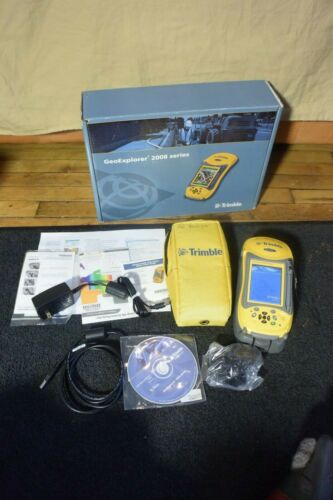 Timble Data Collector Model GeoExplorer 2008 Series With GPS Controller 2.22