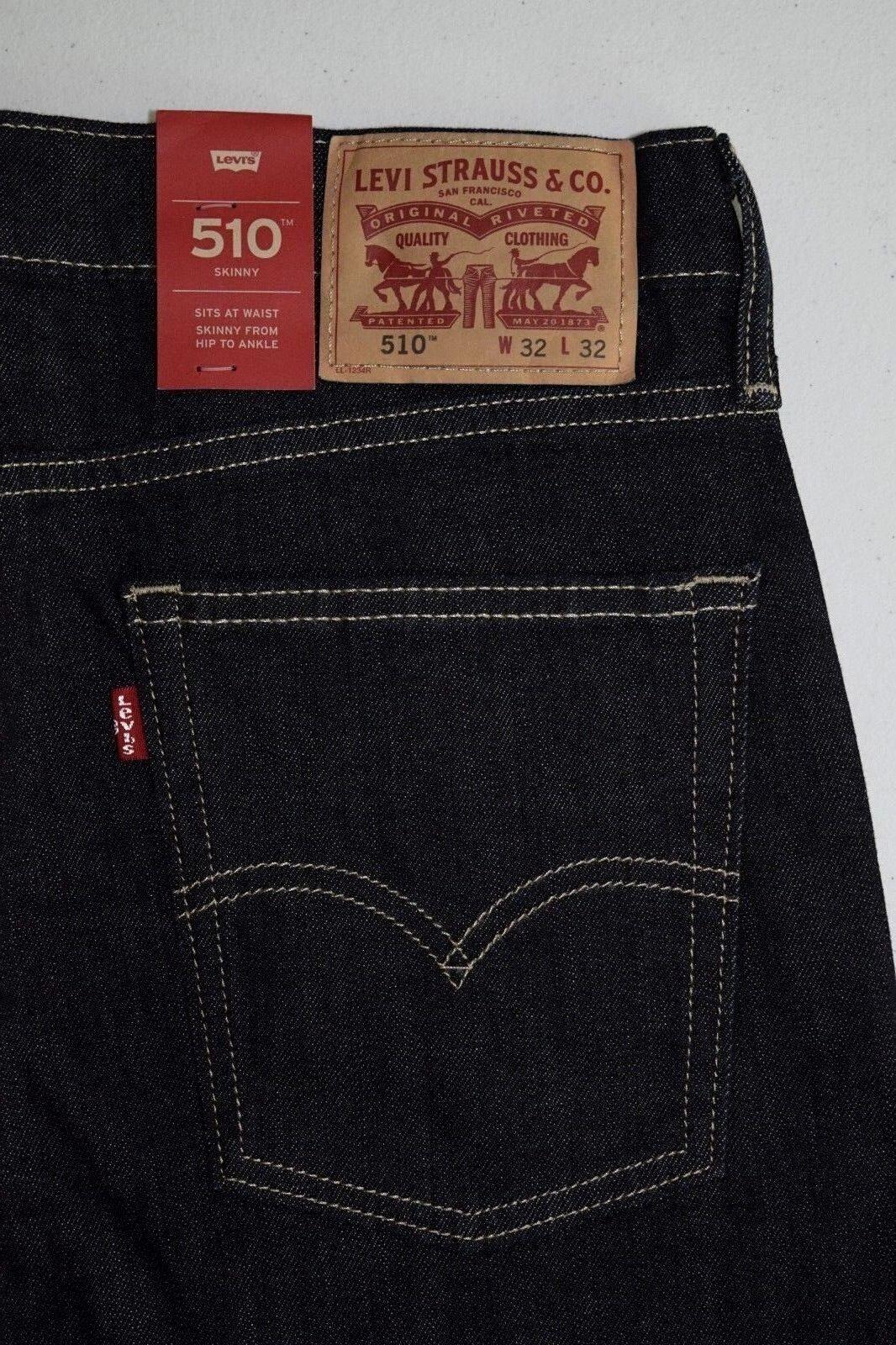 DARK DENIM Levi's 510 Skinny Fit STRETCH Jeans 622090024