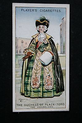The Gondoliers   Gilbert and Sullivan  Duchess of Plaza Toro   Vintage Card  VGC