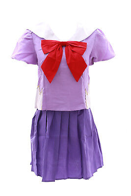 MN-01 Mirai Nikki Yuno Gasai lila Schuluniform schooluniform - Yuno Cosplay Kostüm