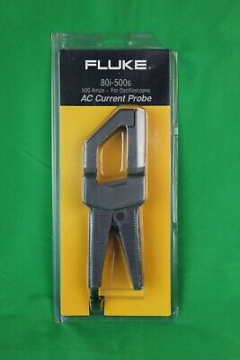 Fluke 80i-500s Ac Current Probe 500 Amps Brand New Sealed