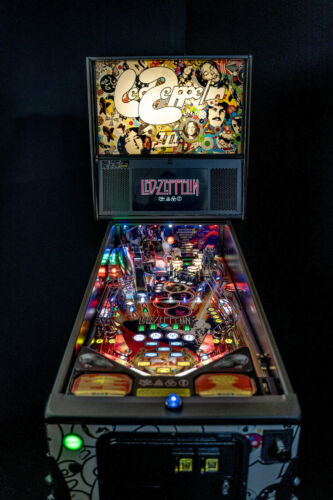 STERN LED ZEPPELIN  PINBALL MACHINE PRO EDITION 2021 IN STOCK READY FOR DELIVERY