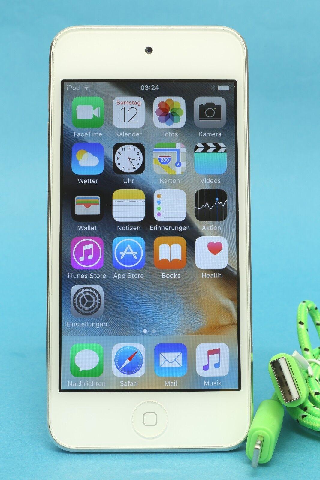 """Apple """"iPod Touch 5"""" + TOP-ZUSTAND + 1 JAHR GARANTIE! + Händler, NEAR MINT g"""