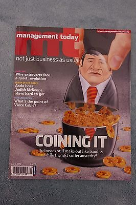 Management Today Magazine: April 2012, CEO Remuneration
