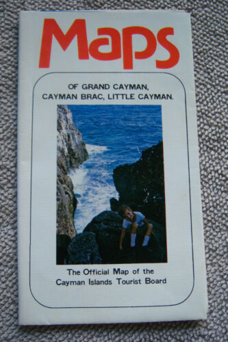 MAPS OF GRAND CAYMAN, CAYMAN BRAC & LITTLE CAYMAN