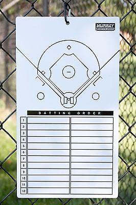 Baseball Eraser (Murray Sporting Goods Dry-Erase Baseball Lineup Clipboard Marker Board )