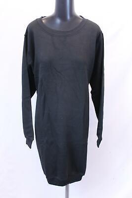 boohoo Women's Plus Basic Sweat Dress SV3 Black Size US:20 NWT