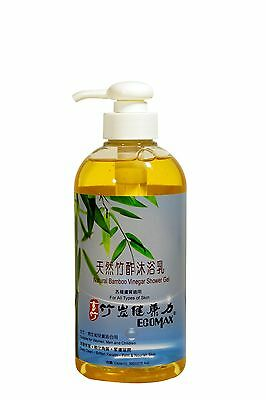 Ecomax Natural Bamboo Vinegar Shower Gel deeply clean,soften Keratin,moist skin