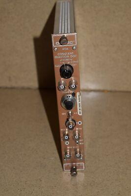 Ortec 473a Delay Line Amplifier Nim Bin Module Dd