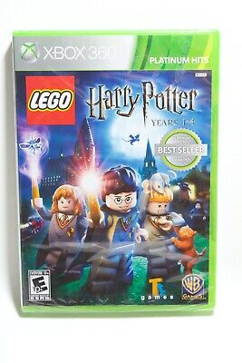 LEGO Harry Potter: Years 1-4 Xbox 360 **Brand New**