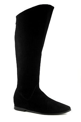 Ted & Muffy Raven Womens UK 7 EU 40 Black Suede Knee High Hidden Wedge Boots  gebraucht kaufen  Versand nach Germany