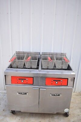 Vulcan 2er85df 170 Lb. Electric Fryer With Filtration System