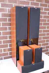 JAMO S506 SERIES WOODEN FINISH 5 SPEAKER SYSTEM IN MINT CONDITION Chadstone Monash Area Preview
