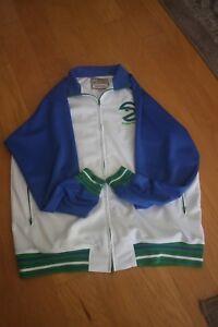 Atlanta Hawks Authentic Mitchell and Ness Warm Up Jacket Retro