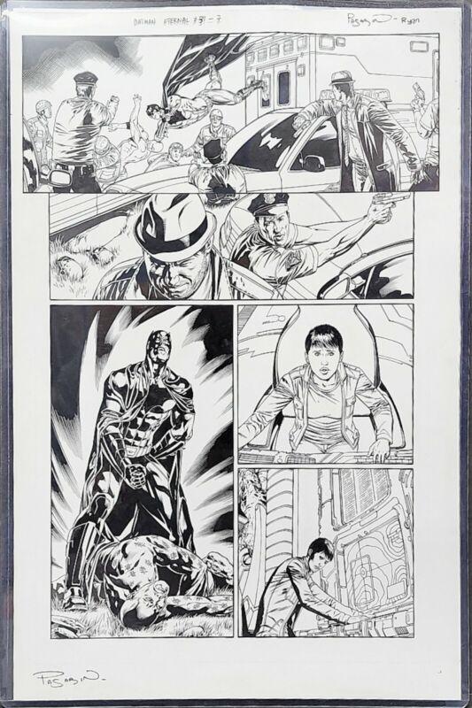 DC Batman Eternal #31 Page 7 Fernando Pasarin / Matt Ryan