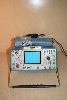 Tektronix 455 Dual Trace Channel Oscilloscope J1