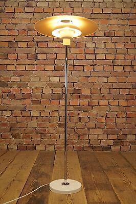 60er STEHLAMPE LEUCHTE FLOOR LAMP 60er LAMPE Danish Modern Design panton Ära