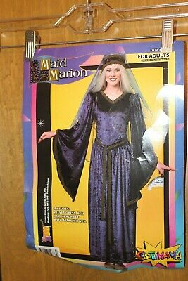 Maid Costumes For Adults (  MAID MARION BLUE VELVET COSTUME FOR ADULTS FORUM NOVELTIES)
