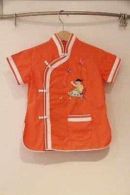 Asiatisches Kinder Hemd von PLUM BLOSSOMS mit Stickerei, - Plum Kinder Kostüme