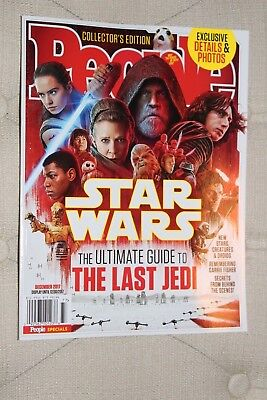 People Magazine   2017 Star Wars  Ultimate Guide To The Last Jedi   Episode Viii