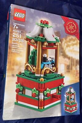 251 Pcs Lego Christmas Carousel (40293) Limited Edition