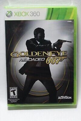 GoldenEye 007: Reloaded Microsoft Xbox 360 Golden Eye James Bond **Brand New**
