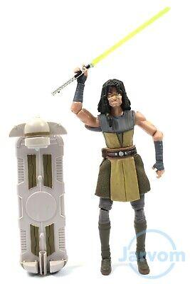 Star Wars TCW Clone Wars CW36 Jedi Quinlan Vos Loose Complete