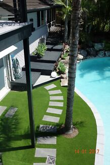 BRISBANE HIGH QUALITY NATURAL LOOKING FAKE ARTIFICIAL SYNTHETIC TURF!