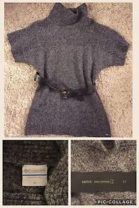Columbia sweater with Mexx belt