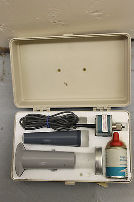 Tektronix P6045 Fet Probe Package 015-03 With Case Power Compensating Hv Hwy