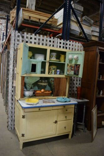 Antique Hoosier Flour Sifting Cabinet