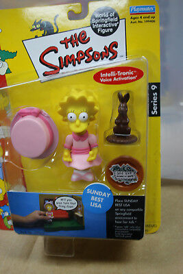 The Simpsons Sunday Best Lisa Playmates Toys - Series 8 - New In Box