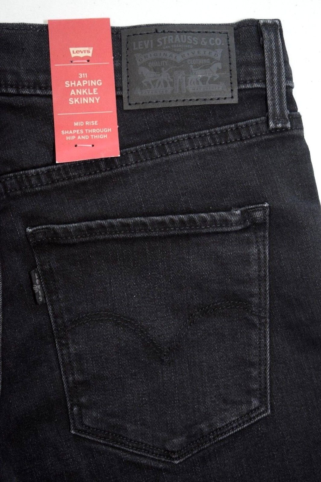DARK Levi's 311 SHAPING ANKLE SKINNY Women's Jeans 362650002