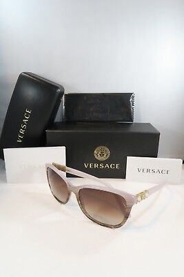 bf7688883231 Versace Women s Sunglasses Soft Pink Crystal Authentic 4293-B 5154 13 57mm w
