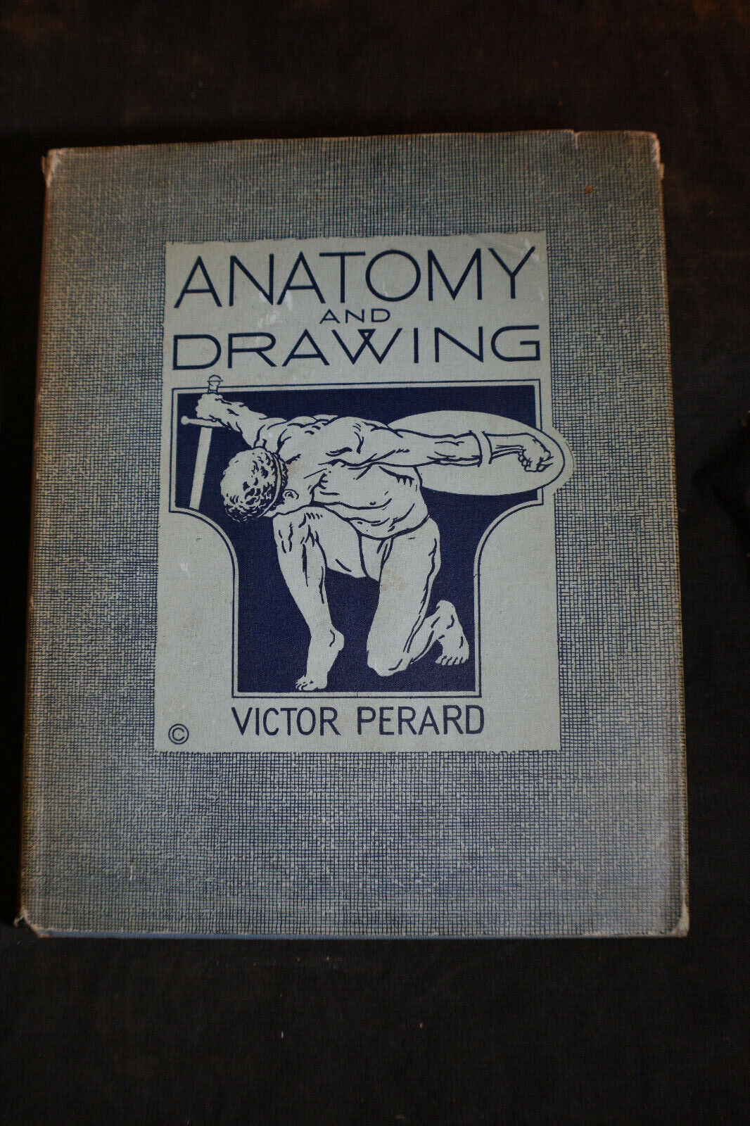 1942 Anatomy And Drawing By Victor Perard HCDJ - $17.99