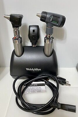 Welch Allyn Desk Charger W 71670 Handles23810 Microview 11710 25020 Set