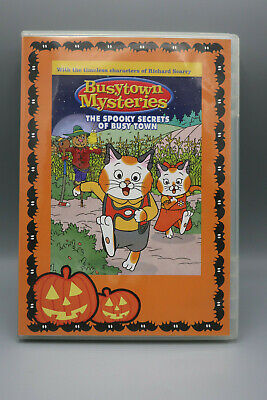 Richard Scarry BUSYTOWN MYSTERIES The Spooky Secrets of - Halloween Town