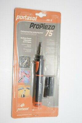 Portasol Piezopro 75 Butane Soldering Iron With Cap Made In Ireland