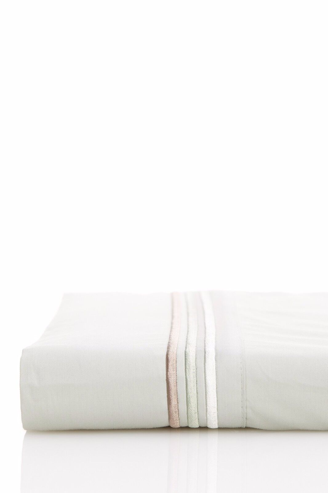 NWT Hugo Boss Classiques Jade Green QUEEN Flat Sheet MSRP $164
